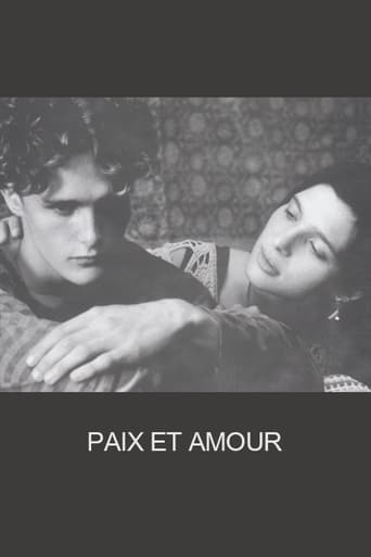 Poster of Paix et amour