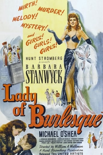 Poster of Lady of Burlesque