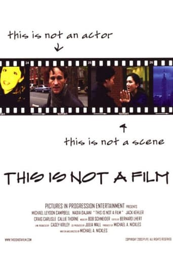 Poster of This Is Not a Film
