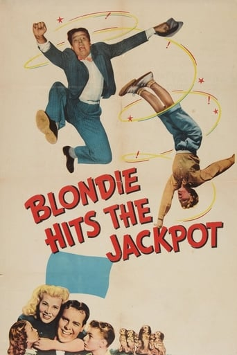 Blondie Hits the Jackpot Movie Poster