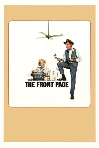 Poster of The Front Page
