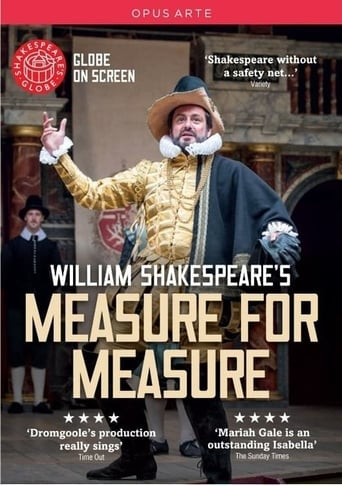 Poster of Measure for Measure: Shakespeare's Globe Theatre