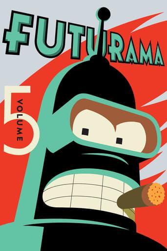 Futurama 5ª Temporada - Poster