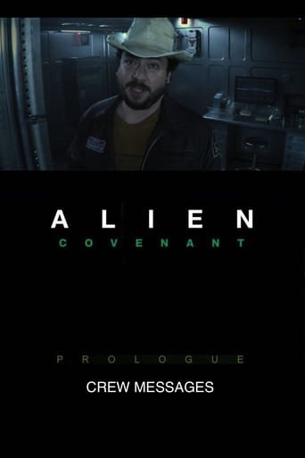 Poster of Alien: Covenant - Prologue: Crew Messages