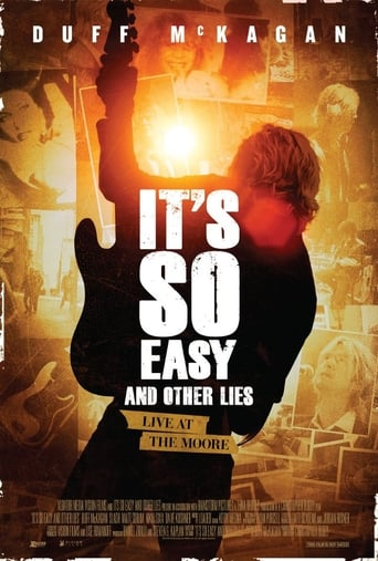 Poster of It's So Easy and Other Lies