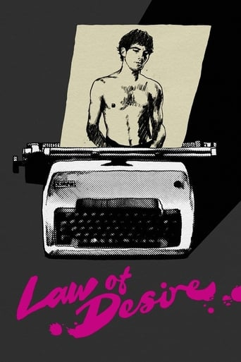 Law of Desire Movie Poster