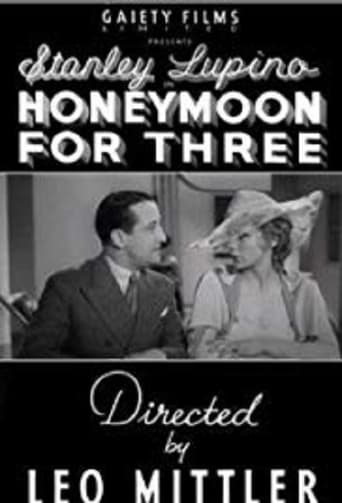 Poster of Honeymoon for Three