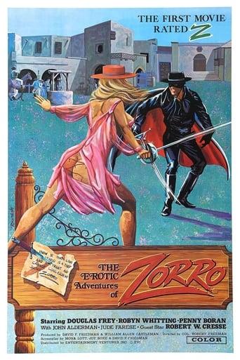 Poster of The Erotic Adventures of Zorro