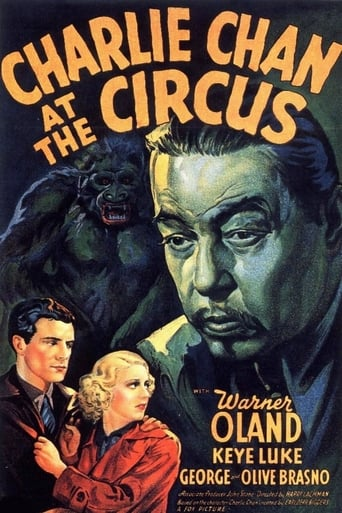 Poster of Charlie Chan at the Circus