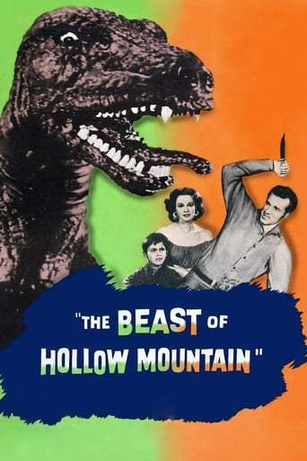 Poster of The Beast of Hollow Mountain