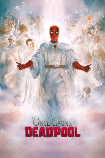 Poster Once Upon A Deadpool