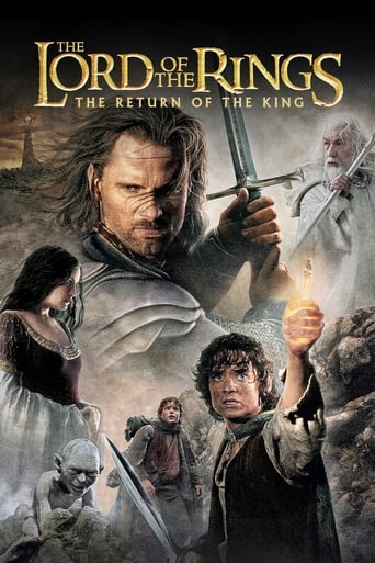 Official movie poster for The Lord of the Rings: The Return of the King (2003)