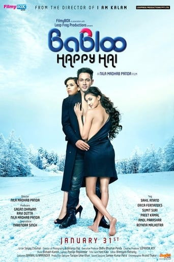 Poster of Babloo Happy Hai