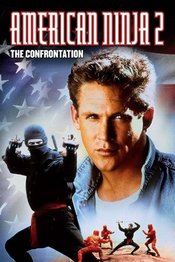 American Ninja 2: The Confrontation (1987) - poster