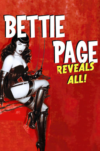 Bettie Page Reveals All (2012) - poster