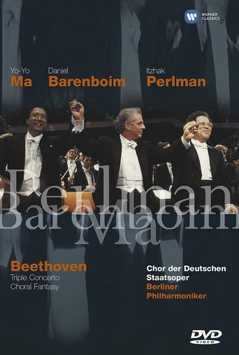 Poster of Beethoven: Triple Concerto And Choral Fantasy
