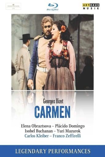 Poster of Bizet Carmen