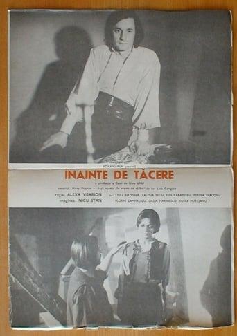 Poster of Înainte de tăcere