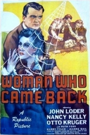 Poster of Woman Who Came Back