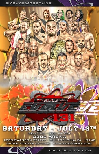Poster of Evolve 131-- 10th Anniversary