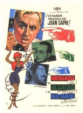 Poster of El abogado, el alcalde y el notario