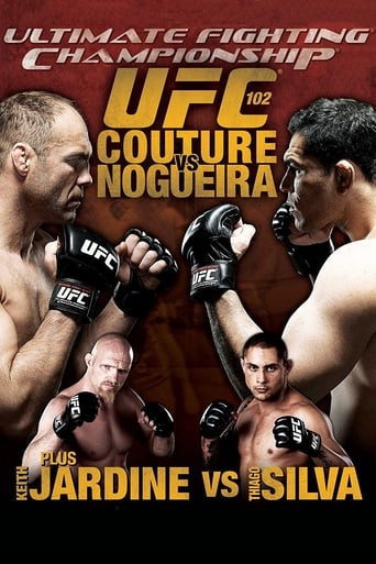Poster of UFC 102: Couture vs. Nogueira
