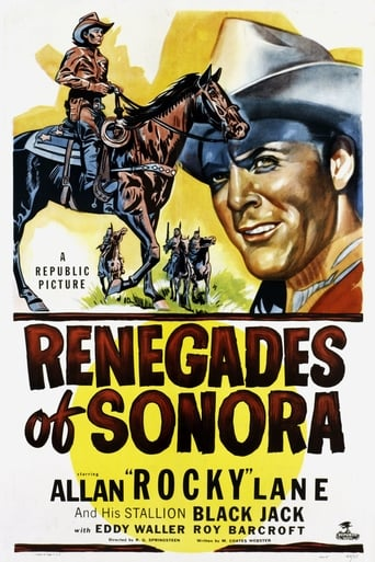 Poster of Renegades of Sonora