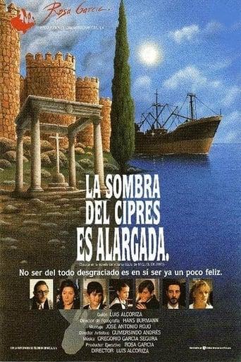 Poster of La sombra del ciprés es alargada