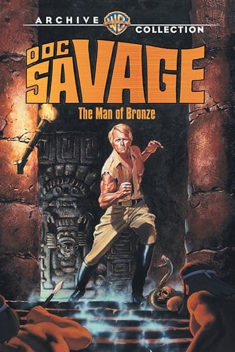 Poster Doc Savage: The Man of Bronze