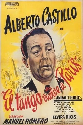 Poster of The Tango Returns to Paris