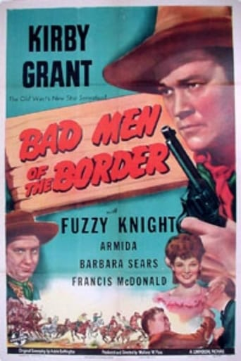 Poster of Bad Men of the Border