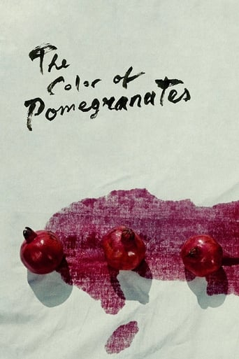 The Color of Pomegranates Poster
