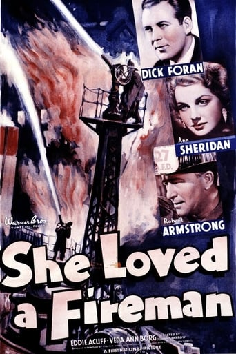 Poster of She Loved a Fireman