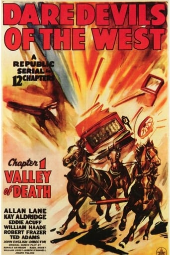 Poster of Daredevils of the West