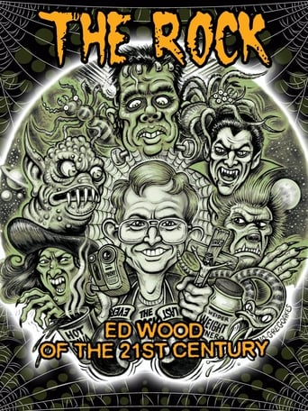 Poster of The Rock Ed Wood of the 21st Century