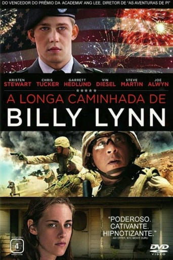 Poster of A Longa Caminhada de Billy Lynn