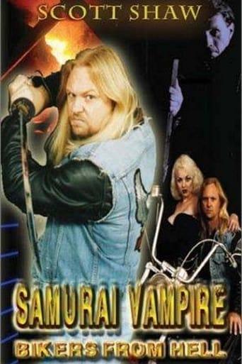 Poster of Samurai Vampire Bikers from Hell