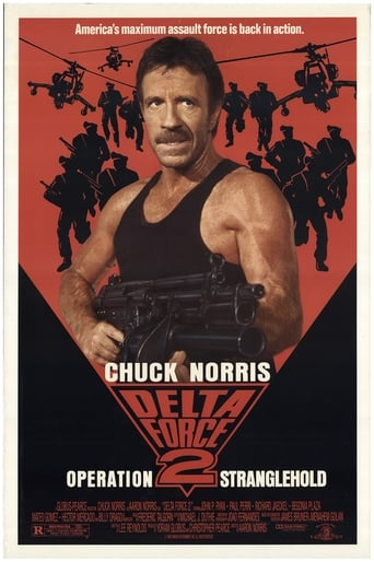 Poster of Delta Force 2: The Colombian Connection
