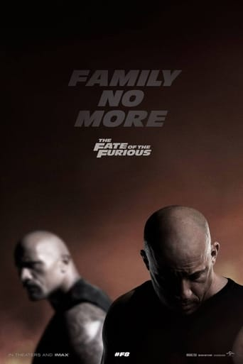 The The Fate of the Furious (2017) movie poster image