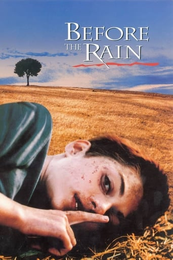 Poster of Before the Rain