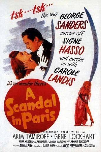 Poster of A Scandal in Paris