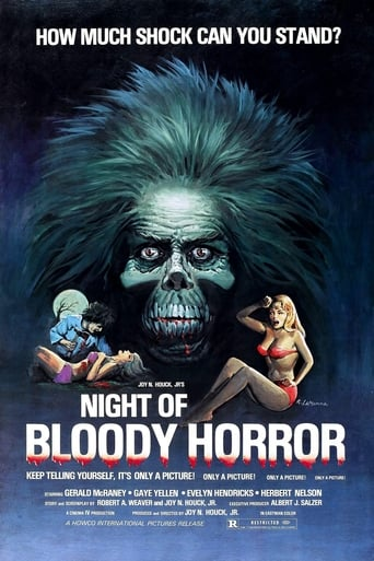 Poster of The Night of Bloody Horror