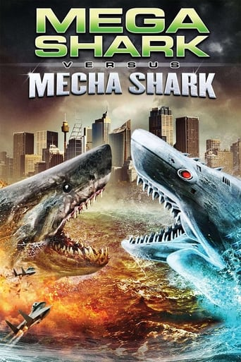 Mega Shark vs. Mecha Shark (2014) - poster