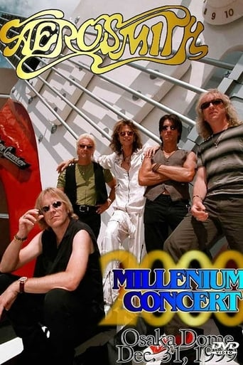 Poster of Aerosmith - Millennium Concert in Osaka