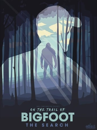 On the Trail of... Bigfoot poster