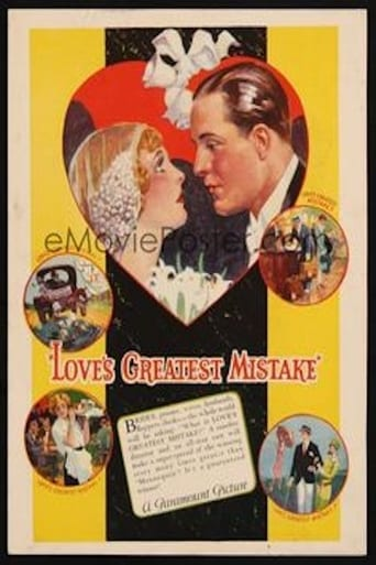 Love's Greatest Mistake Movie Poster
