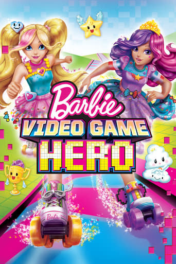 Poster of Barbie Video Game Hero