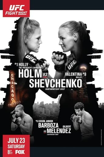 Poster of UFC on Fox 20: Holm vs. Shevchenko