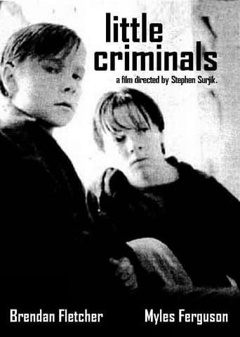 Poster of Little Criminals