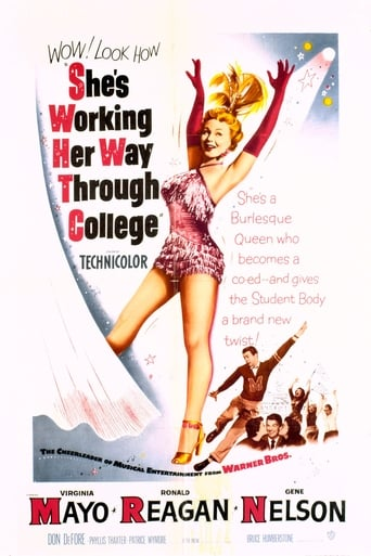 Poster of She's Working Her Way Through College